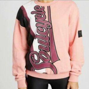 P.E. Nation x Soulcycle Half Run Sweatshirt Small
